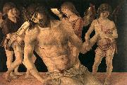 BELLINI, Giovanni Dead Christ Supported by Angels (Pieta)   3659 china oil painting reproduction